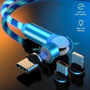 The Newest Rotate Magnetic Charging Cable